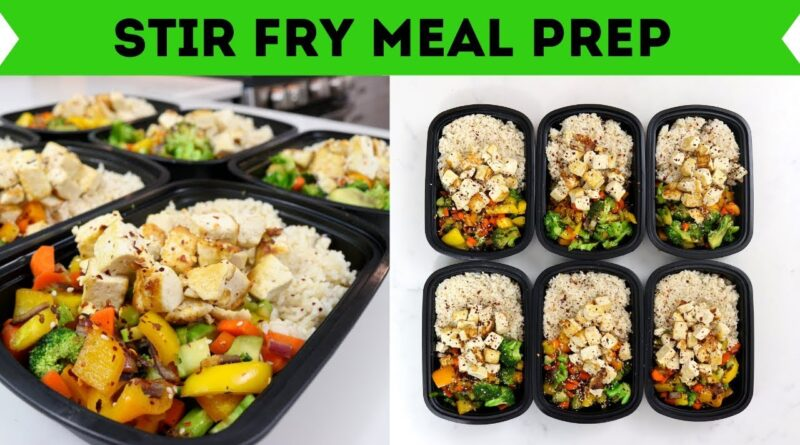 6 Meals in 20 Minutes – STIR FRY – Plant Based Meal Prep